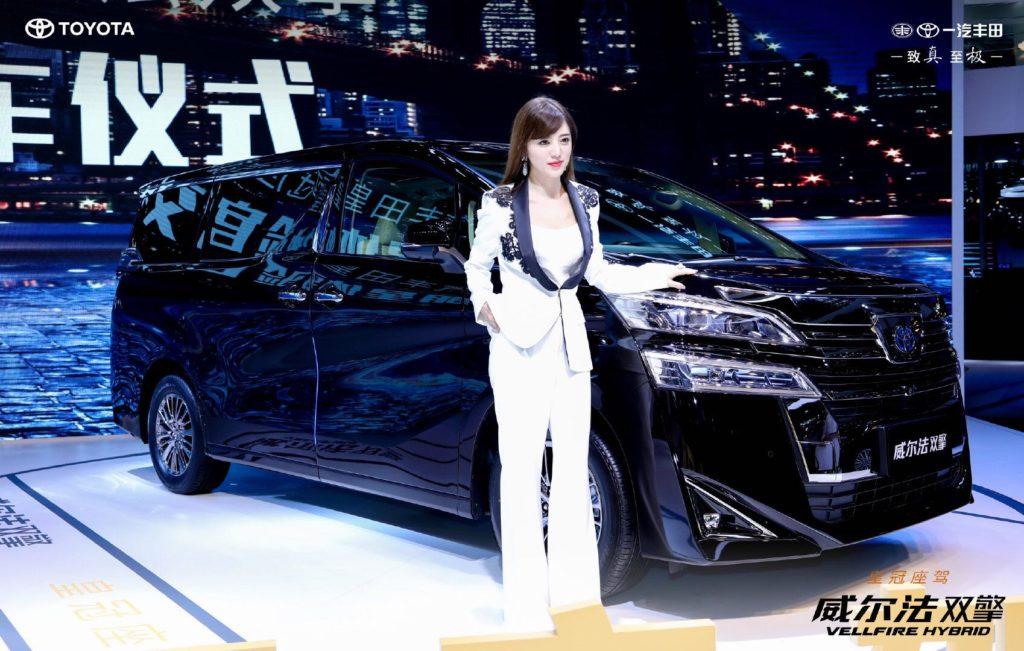 中国人気歌手 阿蘭(alan)深圳Motor Show参加
